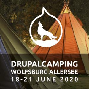 Flyermotiv DrupalCamping 2020