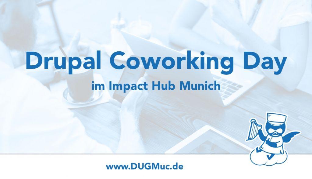 Teaser Drupal Coworking Tag im Impact Hub Munich