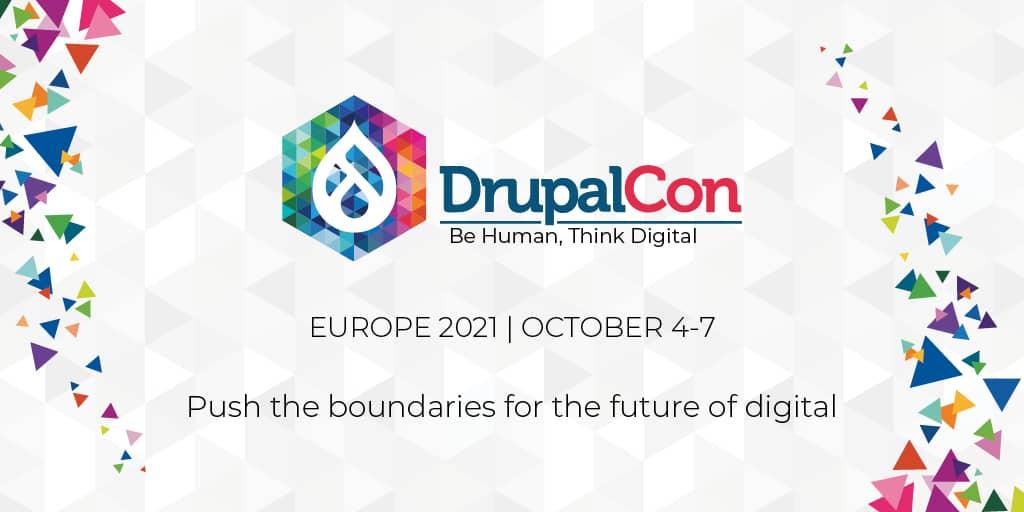 DrupalCon Europe 4. - 7. Oktober 2021