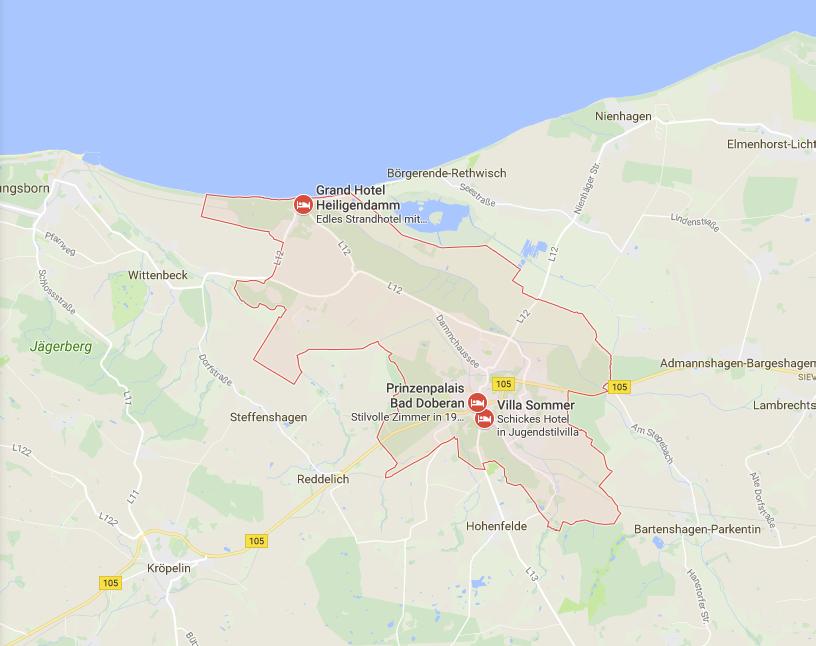 Ausgewählte Städte & Gemeinden in einer Google Map anzeigen | Drupal on